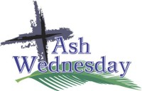 Ash Wednesday Service 5th March