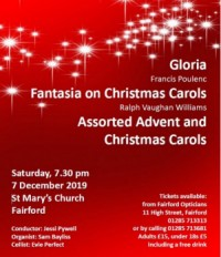 Fairford & District Choral Society's Christmas concert