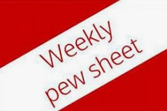 Pew Sheets